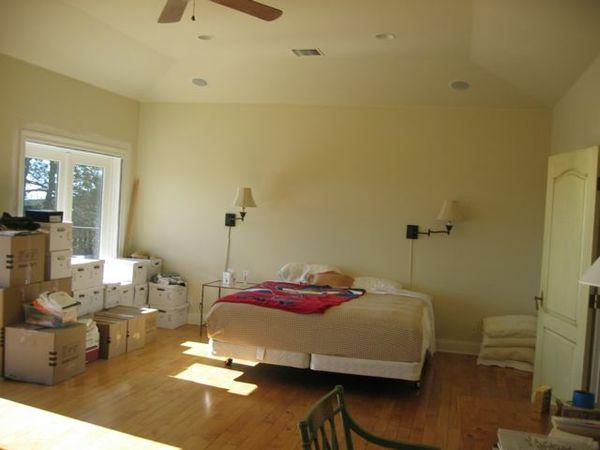 a quick before and after bedroom velvet linen. Black Bedroom Furniture Sets. Home Design Ideas