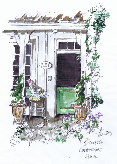 Brookes front door