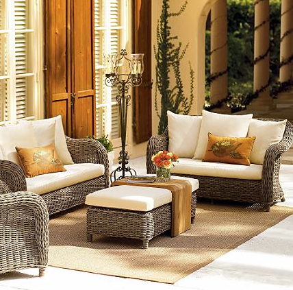 Pottery Barnu0027s Palmetto Wicker Collection Is Beautiful.