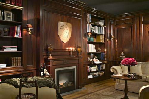 1. Library mahogany photo 1