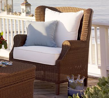 Some Outdoor Furniture That Would Be Delivered Quickly Restoration Hardware All Of Our Hampshire Collection Wicker Pieces Within 10 Days