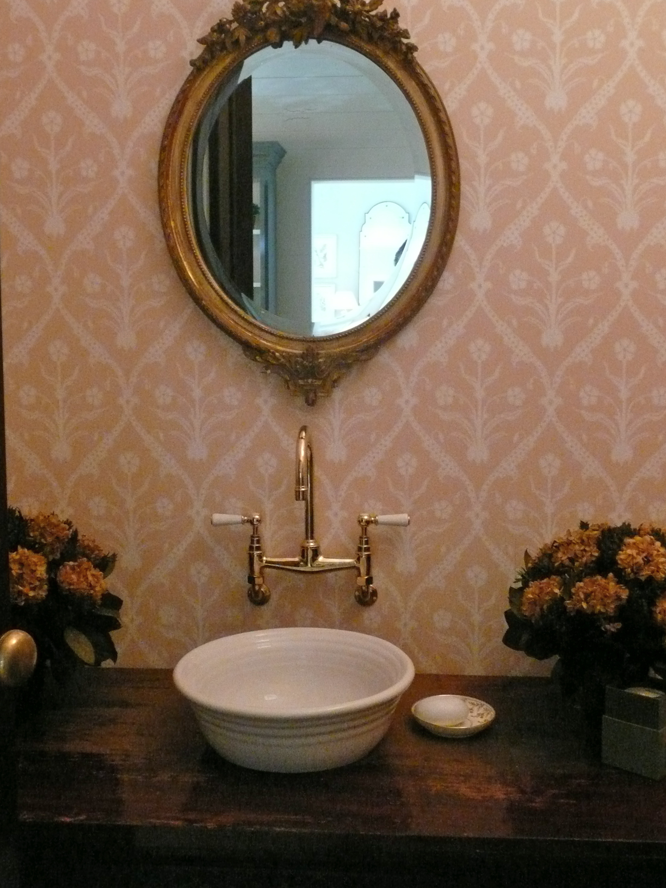 powder room design - part one - Velvet & Linen