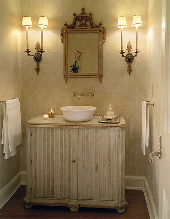 This Picture Of John Saladinou0027s Powder Room Is Divine!!!