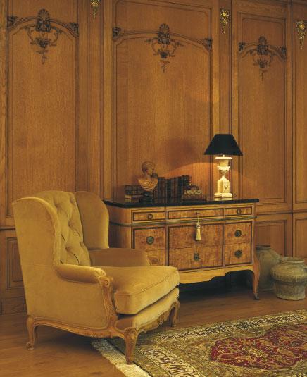 15. Wood paneling oak 1