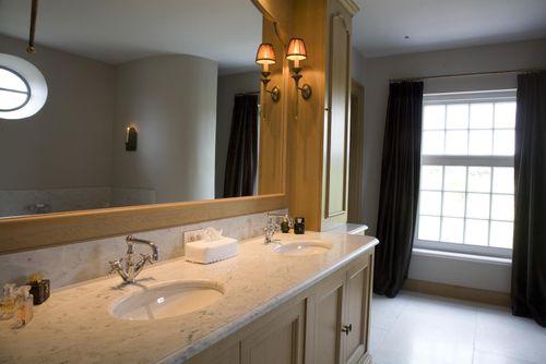 11. Bathroom oak