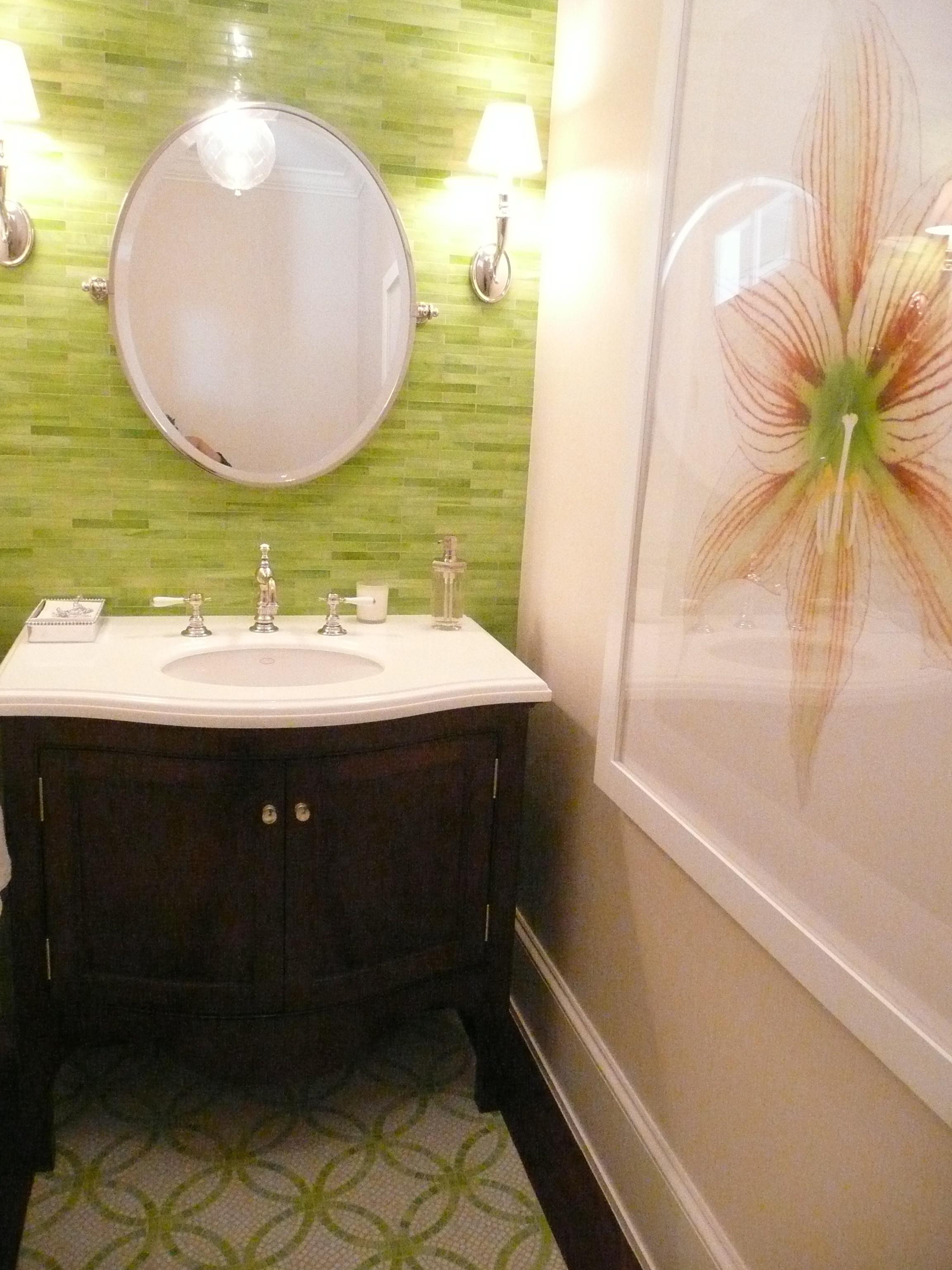 Ann Sacks Tile Bathroom Velvet Linen