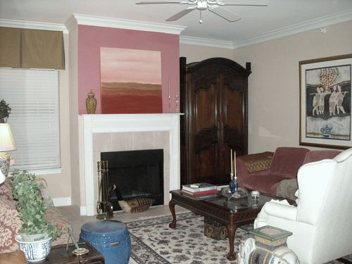 Living Room & Mantle