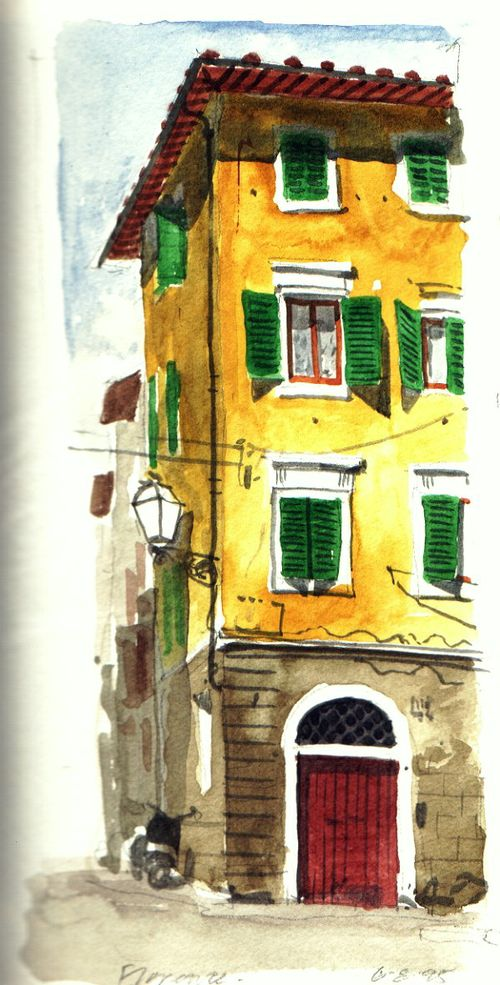 Villa Painting
