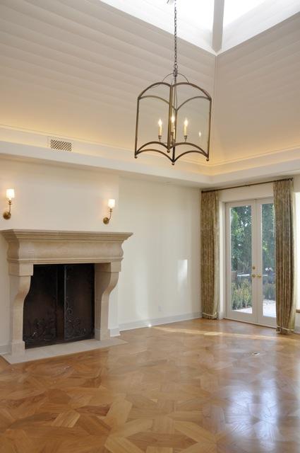 A Peaceful Living Room Design Velvet Amp Linen