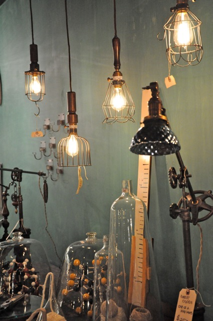 These frame wire pendant lights are a few of my favorites.