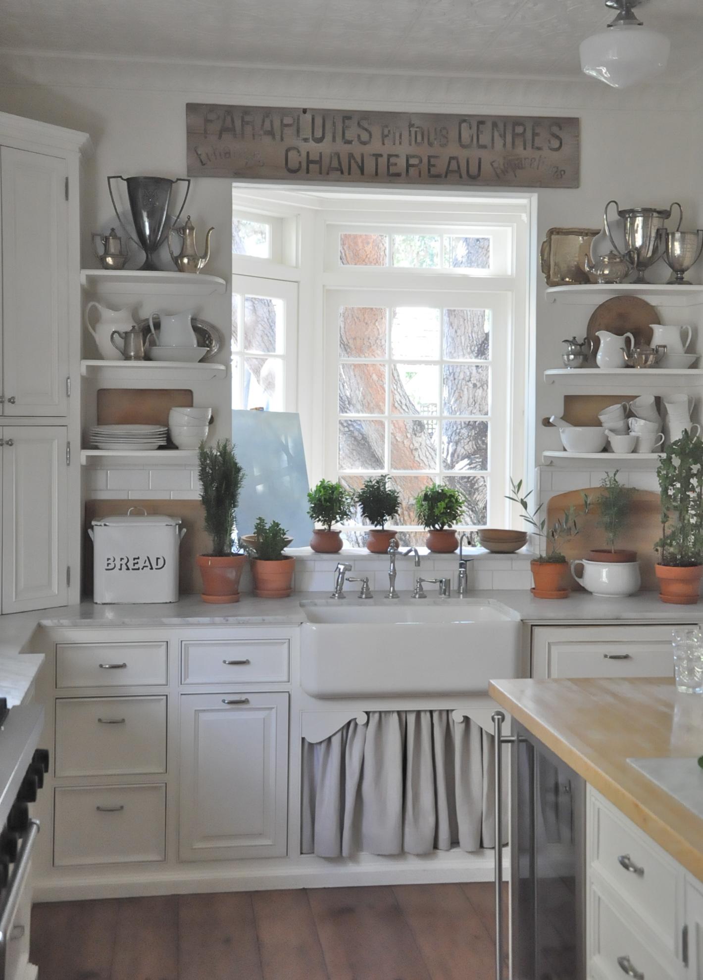 brocante keukenkasten : Brocante Keuken Het Keukengordijntje Bobbie S Home