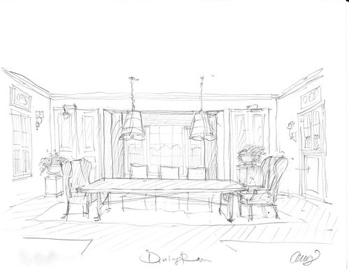drawing room: dining room drawing