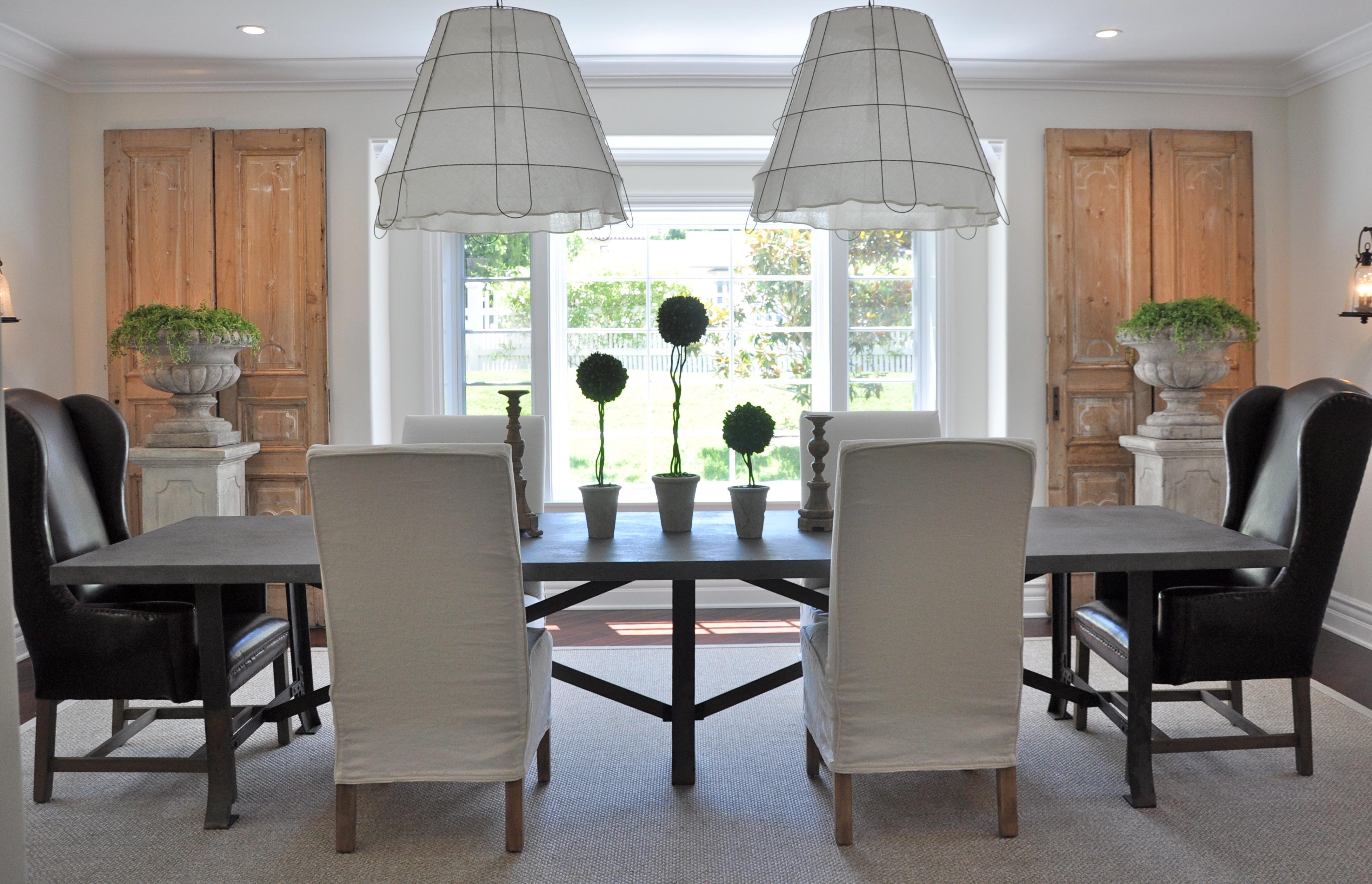 Velvet Linen Dining Room