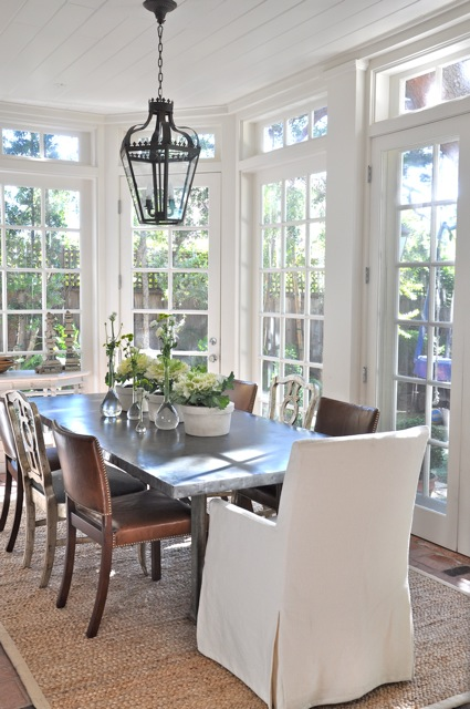Weu0027ve Ordered A Pair Of These Belfort Wingback Dining Chairs From  Restoration Hardware To Sit At The Ends Of The Table. They Will Be  Upholstered In A Worn ...