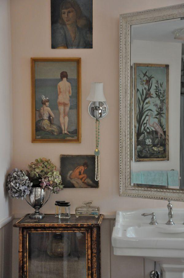My Pink Bathroom Preview Velvet Amp Linen