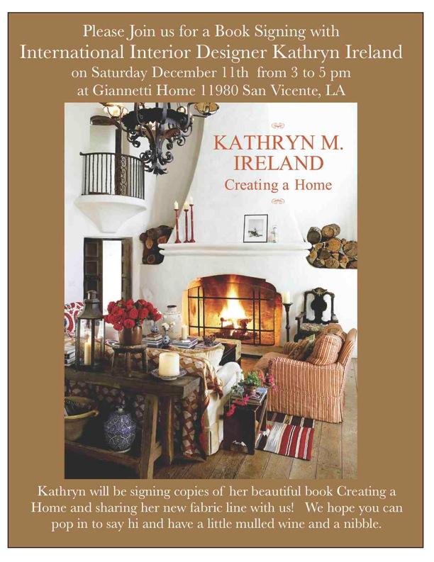 http://www.amazon.com/Creating-Home-Kathryn-Ireland/dp/1423605950/ref=sr_1_1?ie=UTF8&s=books&qid=1249951535&sr=8-1