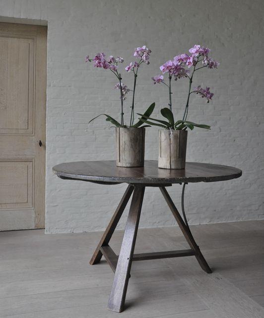 Dutch tilt table early 19th H71 W116