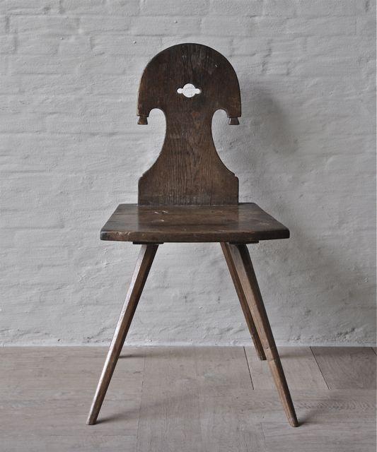 Italian mountain chair H87 D38 W43