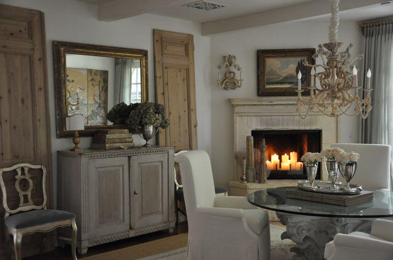 Velvet & Linen: dining room