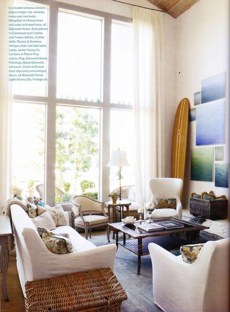 Our Weekend Getaway Featured In Veranda Velvet Amp Linen