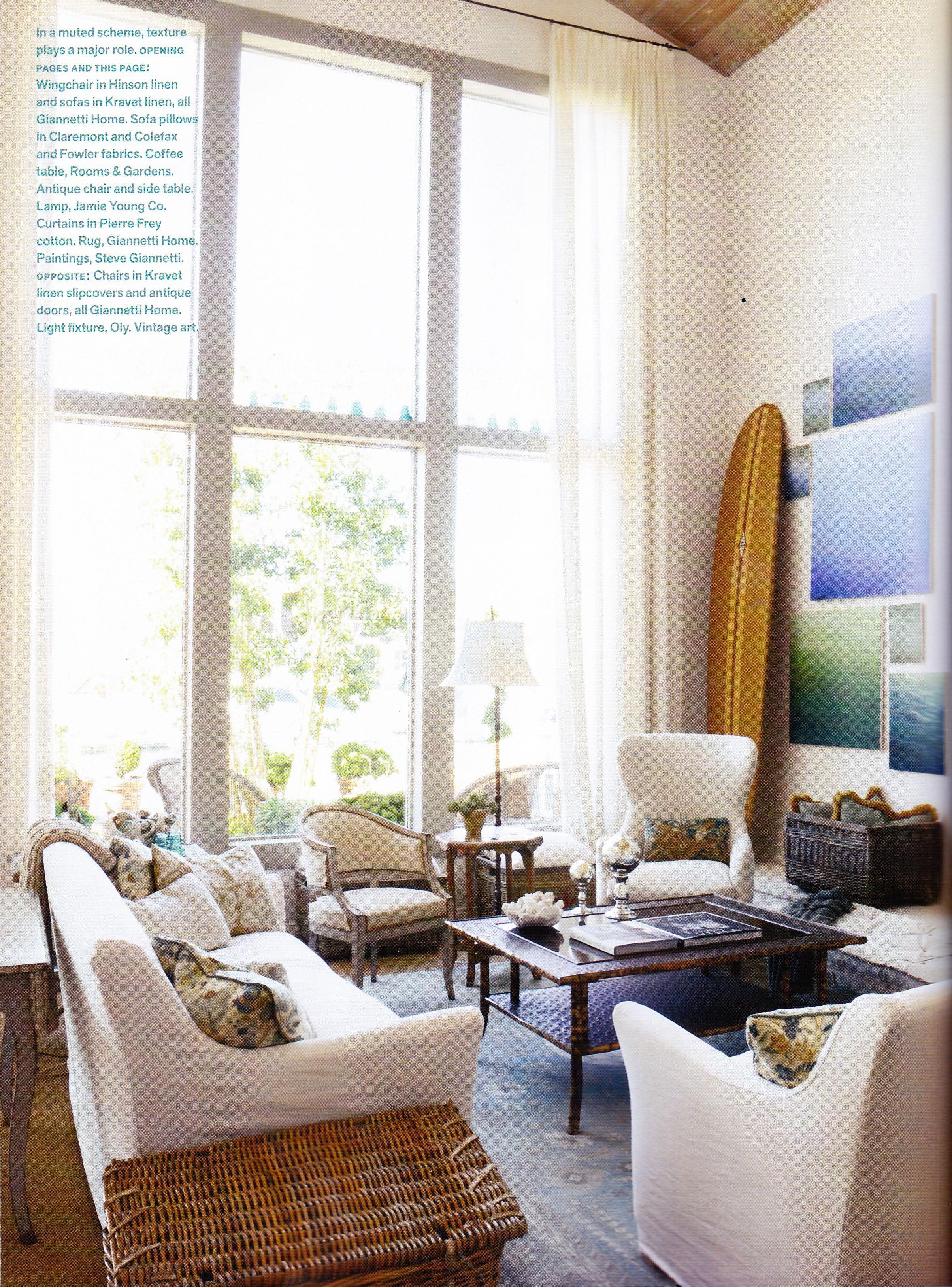 our weekend getaway featured in veranda! - Velvet & Linen