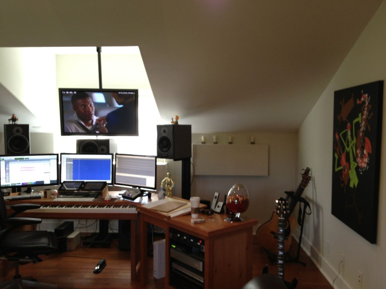 A Studio Design In Progress An All The Best Interview And A Home Studio Design
