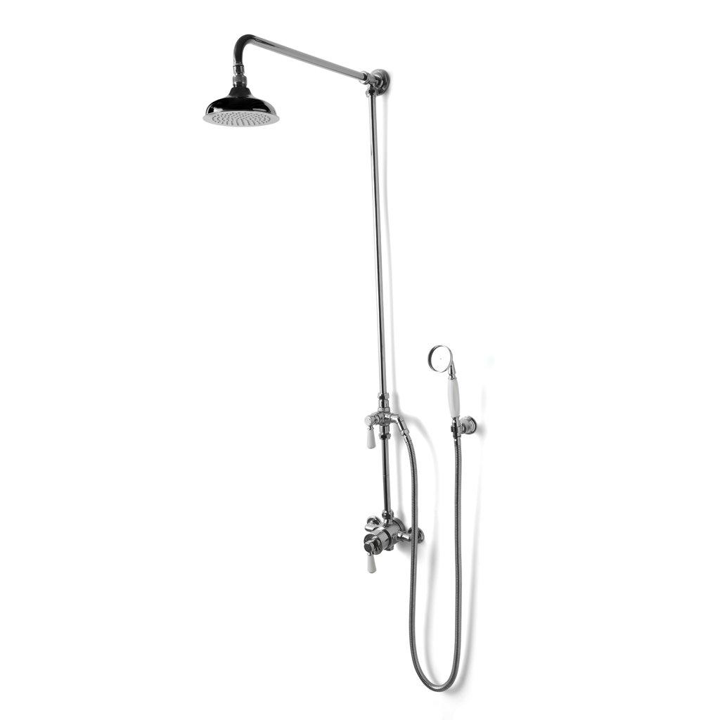 exposed thermostatic showers... - Velvet & Linen
