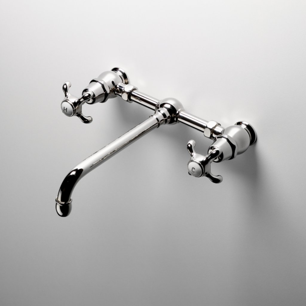 Wall mounted faucets for vessel sinks - With A Hancock Vessel Sink