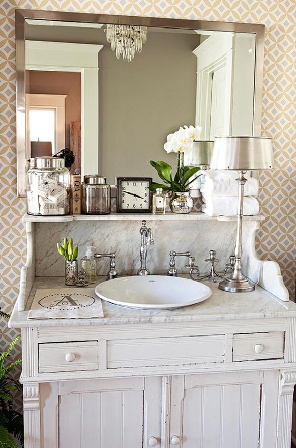 lighting options in the bathroom... - Velvet & Linen