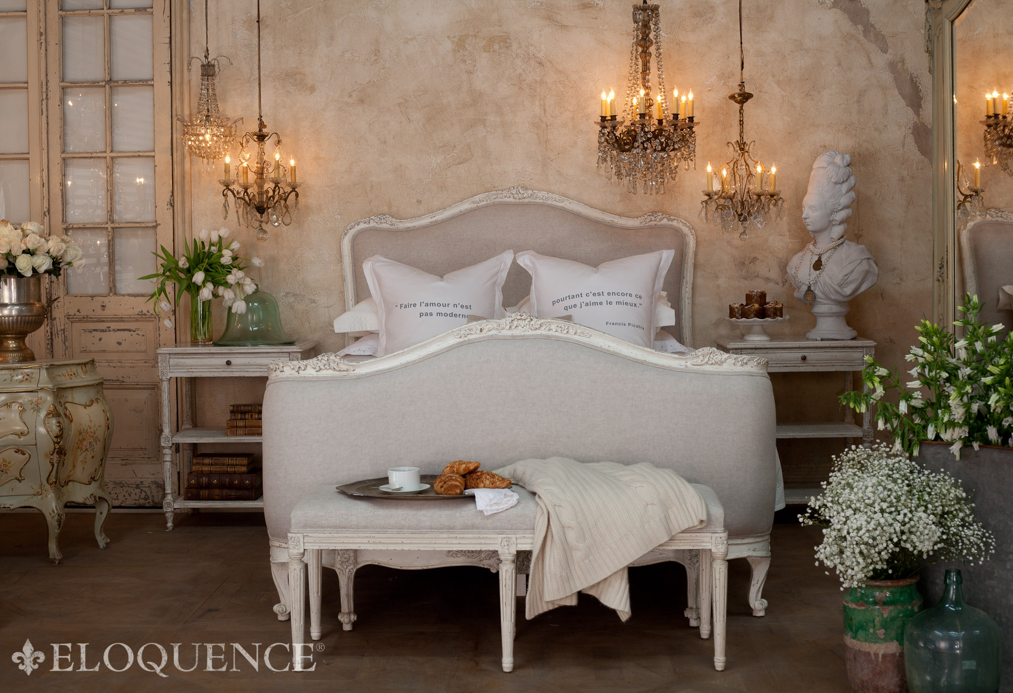 Sophia Bedroom Furniture The Eloquence Collection Give Away Velvet Linen