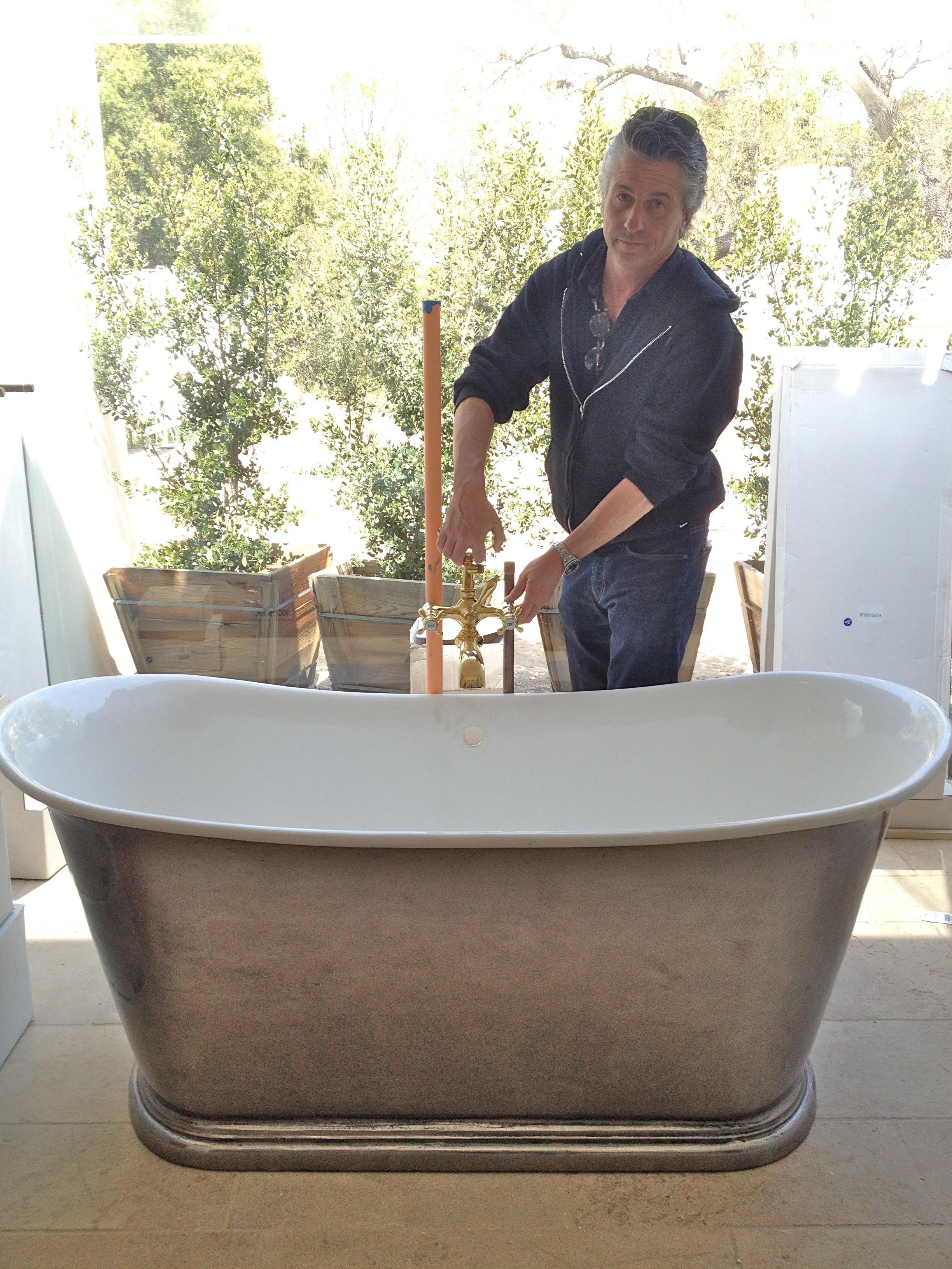 Velvet & Linen plumbing fixtures
