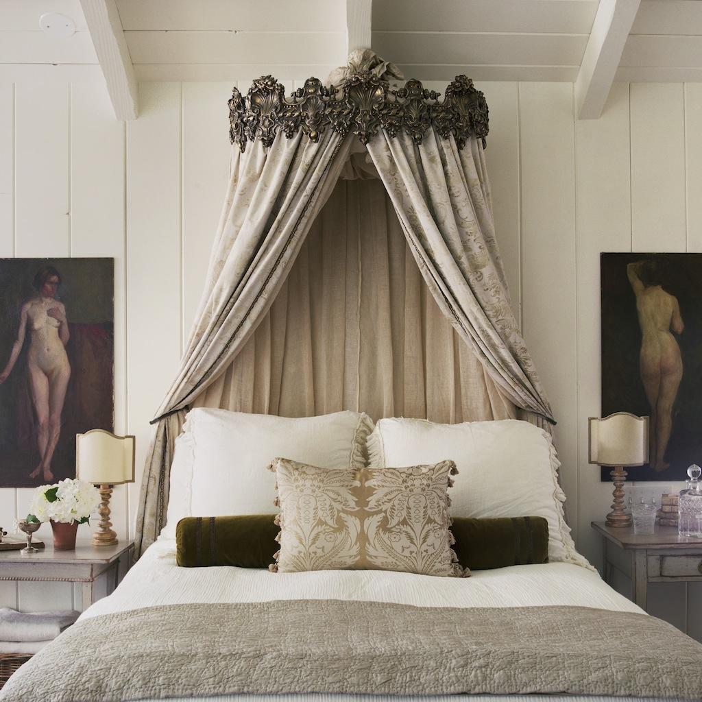 Patina style romantic bedroom - 16th Street
