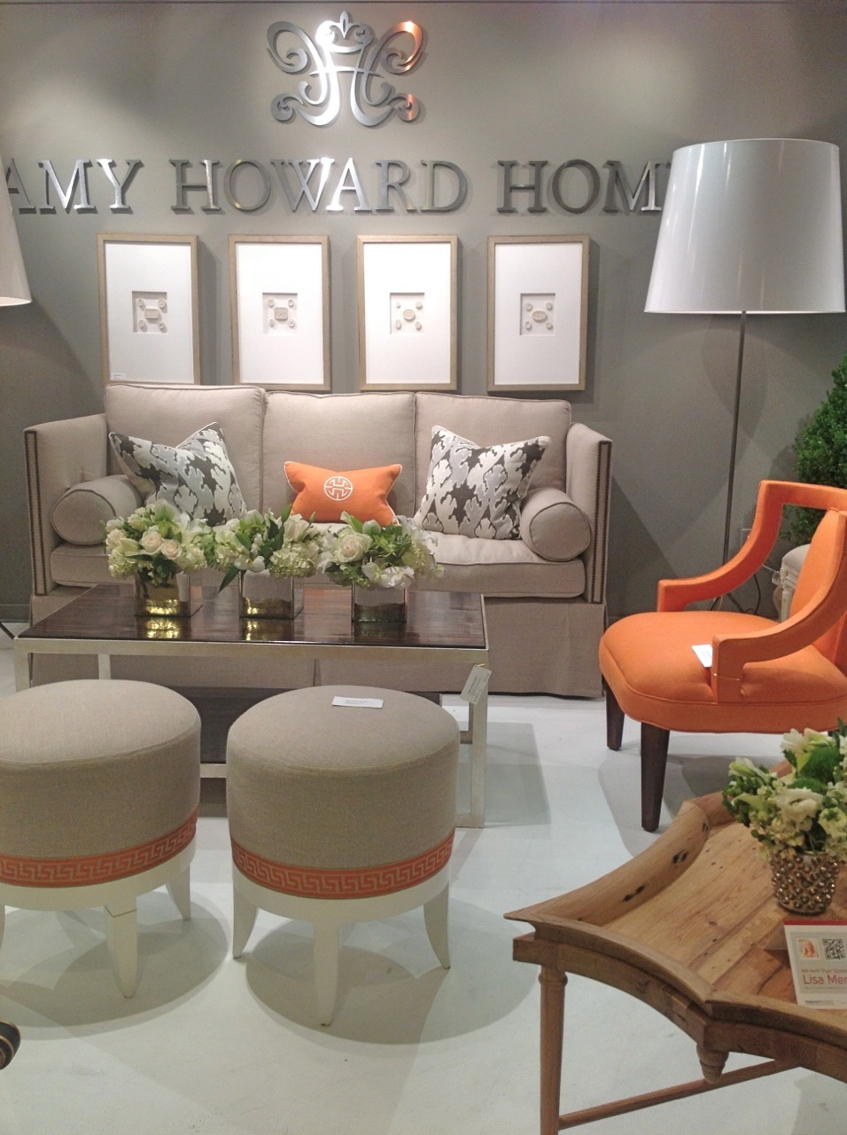In Spite Of The Large Signage, It Took Us A Moment To Realize That We Were  Appreciating The New Furniture Line Of Our Friend, Amy Howard.
