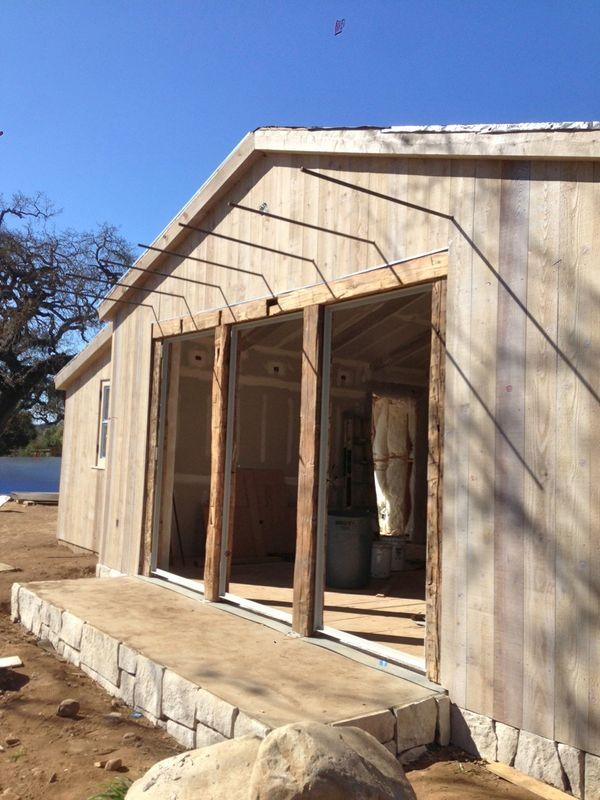 Patina Farm Update Exterior Stone And Cedar Wood Siding