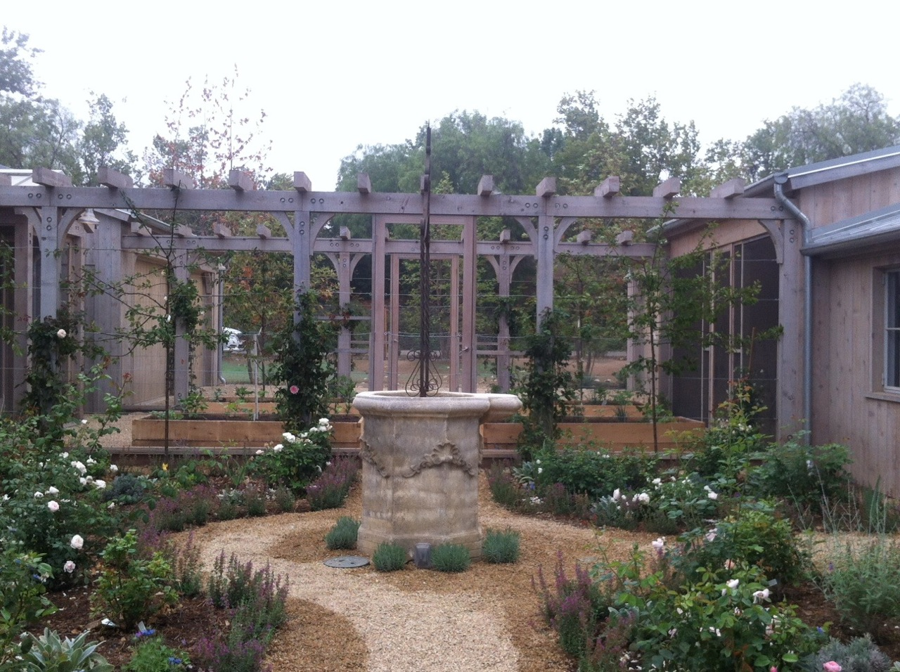 Our Kitchen Garden Patina Farm Garden Update Velvet Linen