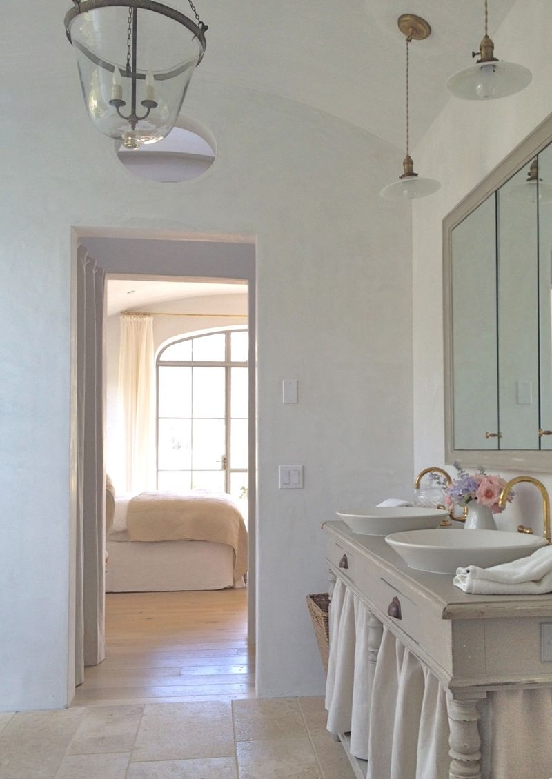 Velvet and Linen: Patina Farm Master Bathroom