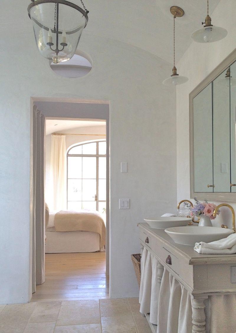 Velvet and Linen: Patina Farm Master Bathroom