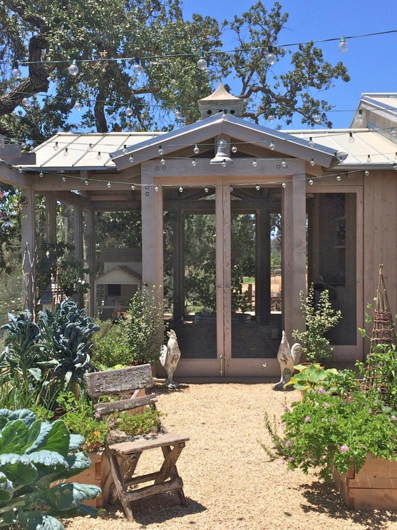 velvet and linen: a patina farm garden update