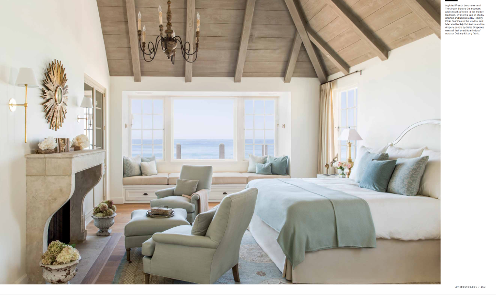 Giannetti Home French Normandy Style Beach House