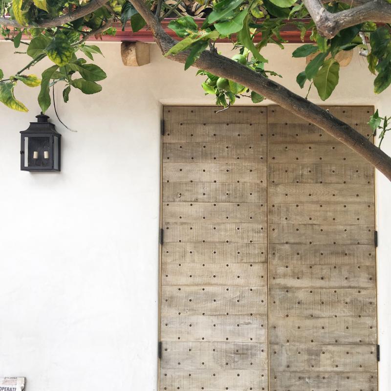 Giannetti Home Malibu Chateau Domingue Door