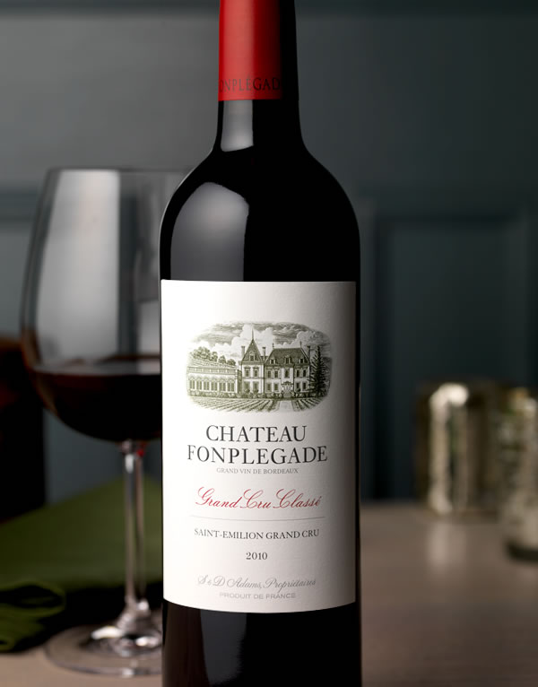 Chateau-Fonplegade-Wine-Label-and-Package-Design