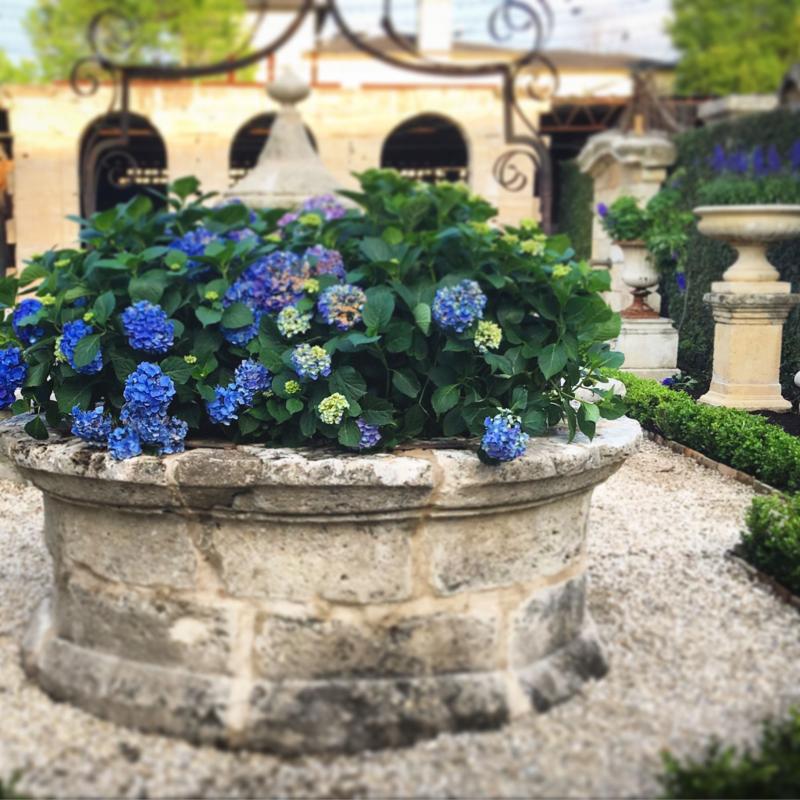 Velvet and Linen: Chateau Domingue Garden