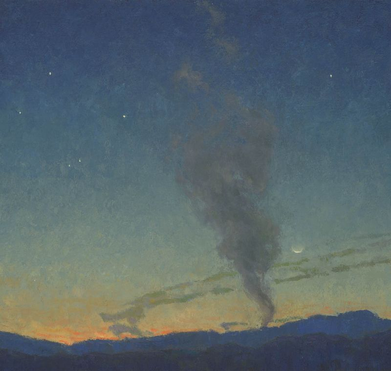 715-16-Evening Pillar 18x19 72