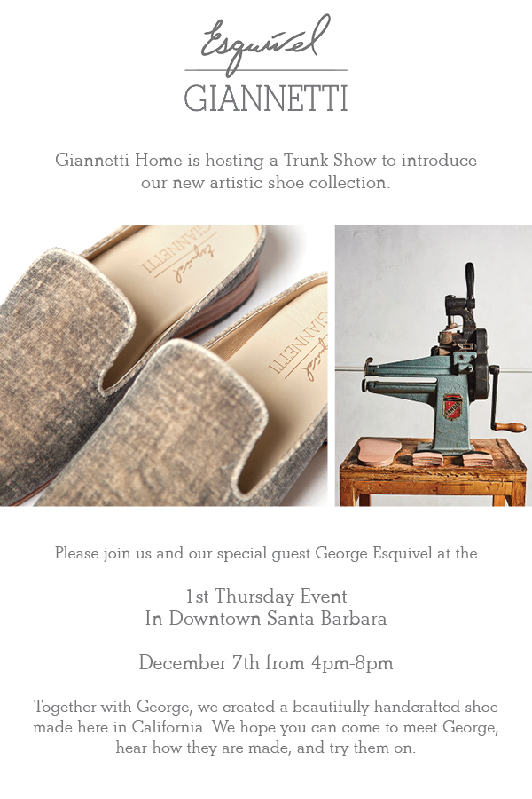 December 1st Thursday Flyer_Giannetti Home