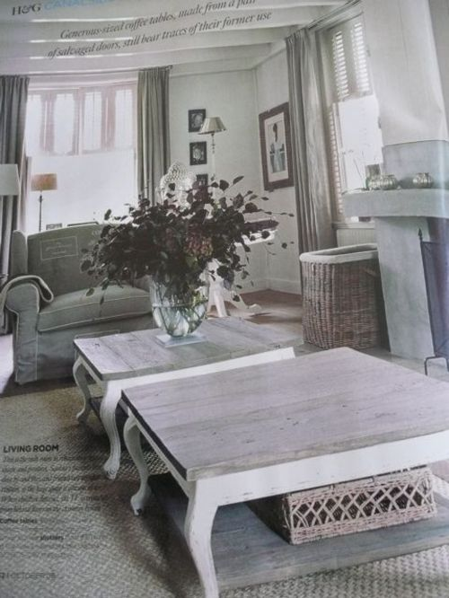 They Make Many Pieces Of Rattan Furniture In A Lovely Weathered Gray. It  Looks Great Indoors And Outdoors